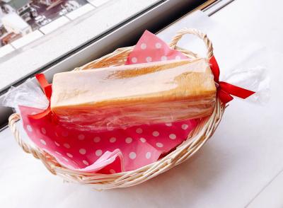 食パンのキャンディ包み
