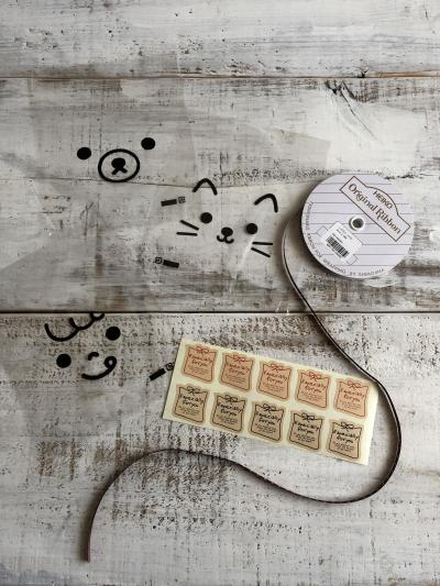 オリジナル菓子パン袋でメロンパンの簡単ラッピング