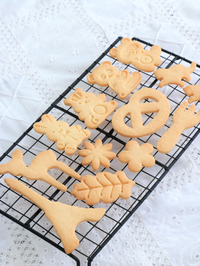 さっくさく♡アーモンドパウダー入り型抜きクッキー