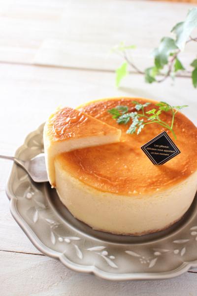とろける♪自慢の半熟チーズケーキ