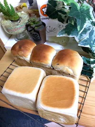 アレンジ自在☆キューブ型食パン