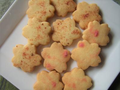 ♡ 桜の型抜きクッキー ♡