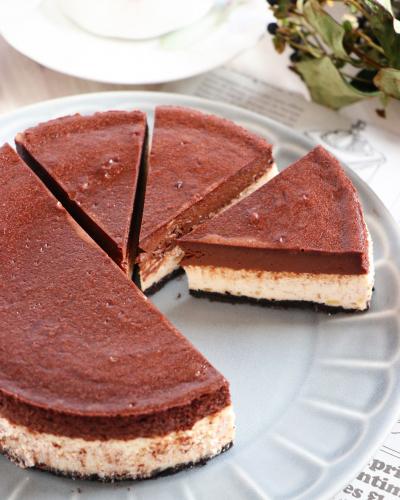 チョコバナナ・チーズケーキ