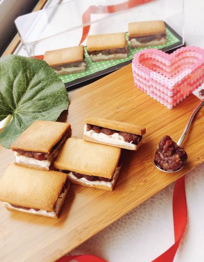 幸せの あんバターサンドクッキー♡