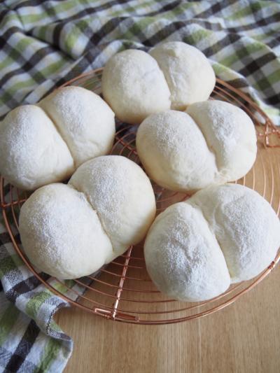 ふんわりしっとり白パン