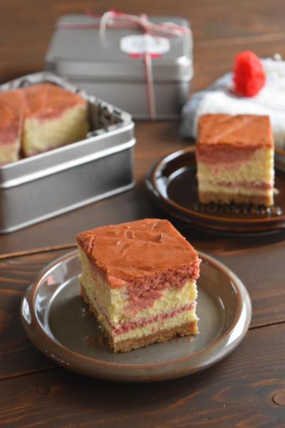 スクチーズケーキのラッピング(母の日*持ち寄り*プレゼント)