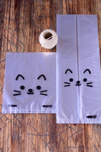 簡単ぶち猫ラッピング