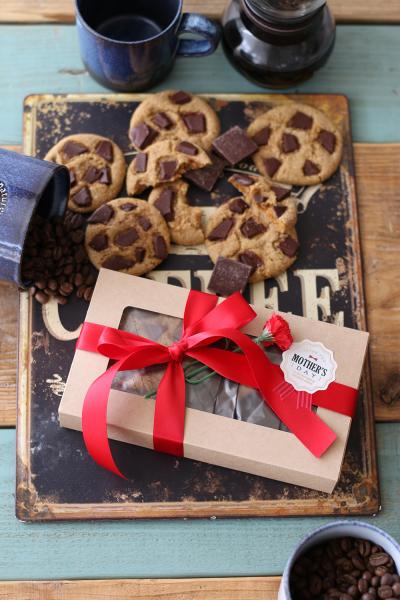 クラフトケースでクッキーの母の日ラッピング