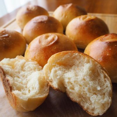 ふんわりやわらか♪基本の丸パン
