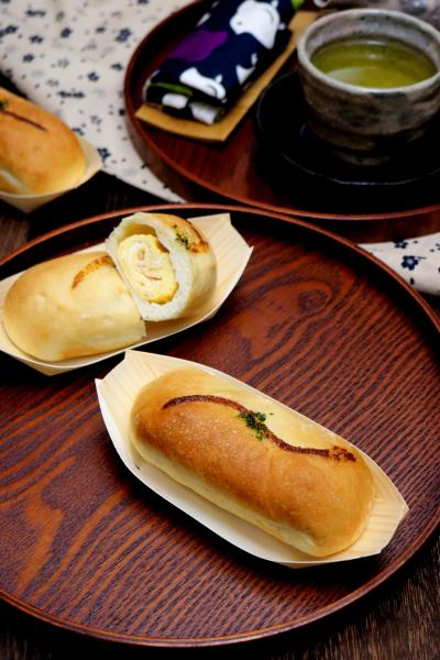 出汁巻きたまごパン。
