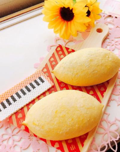黄色が可愛い♡ レモンパン