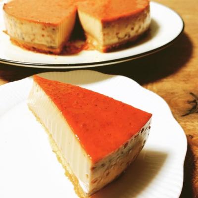 チャイティープリンケーキ