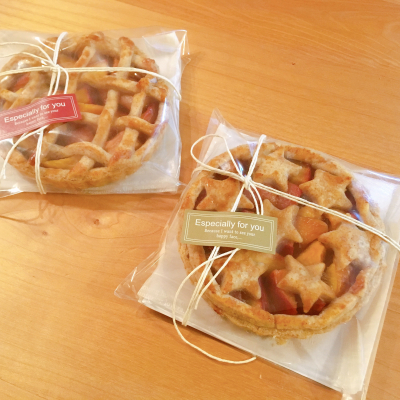 かんたん☆ナチュラルなパイのラッピング
