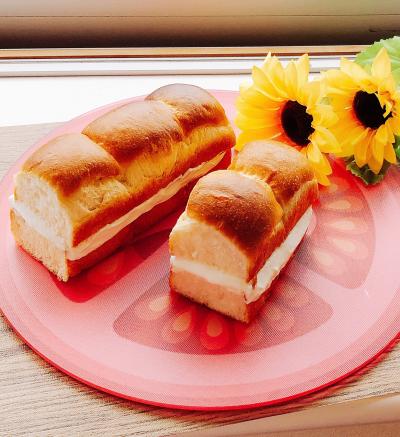 懐かしの牛乳パン♡
