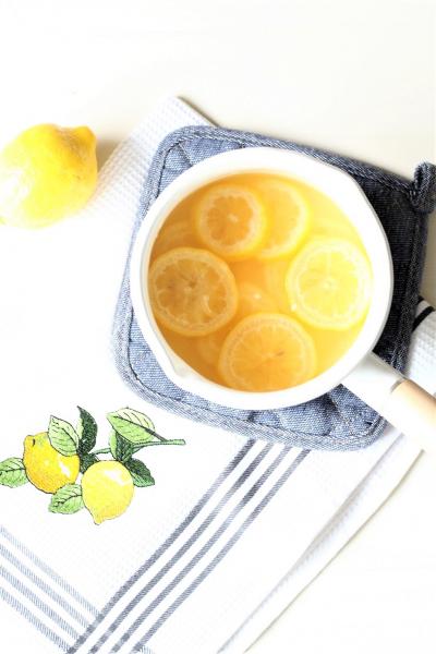 レモンのシロップ煮