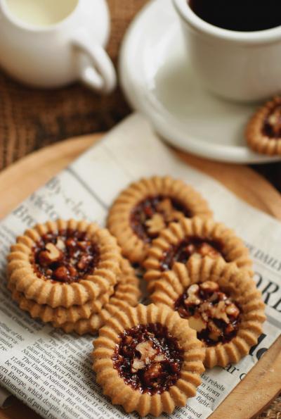 黒糖とコーヒーのロミアスクッキー