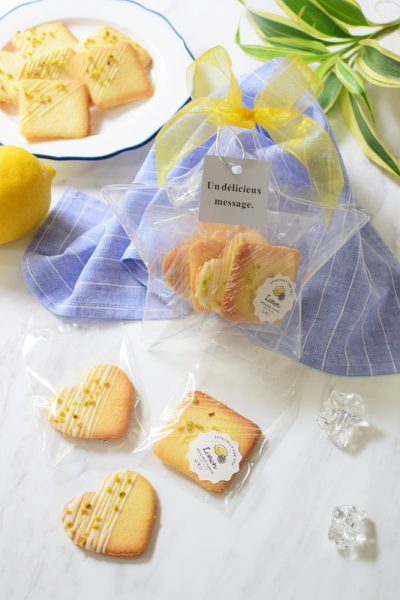 塩レモンラングドシャ☆スターラッピング