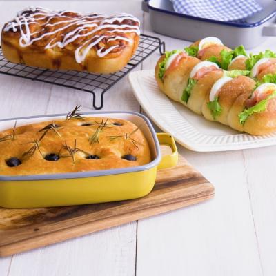 ホーロー容器で作れるパン3種