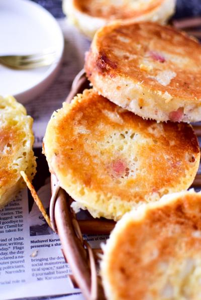 2種のチーズでパリパリパン
