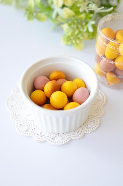 野菜パウダーでカラフル卵ボーロ