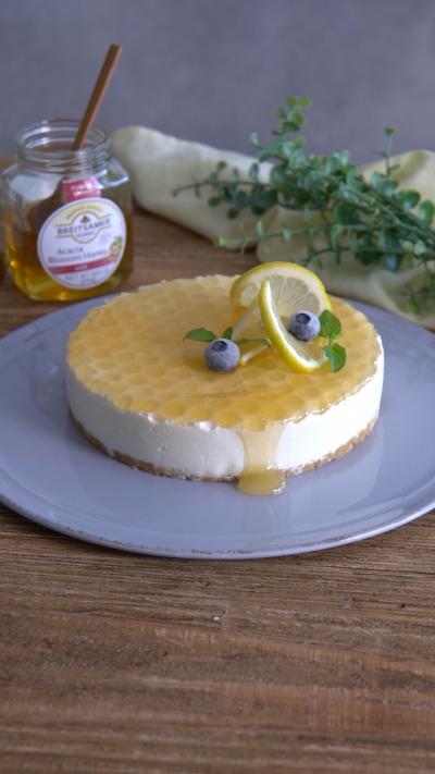 はちみつチーズケーキ