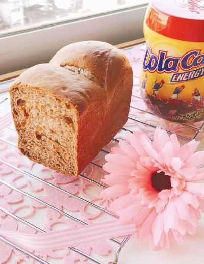 《シリコーンベーキングトレー》ココアメープル食パン☆