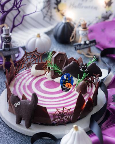 ~ハロウィンしましまレアチーズケーキ~