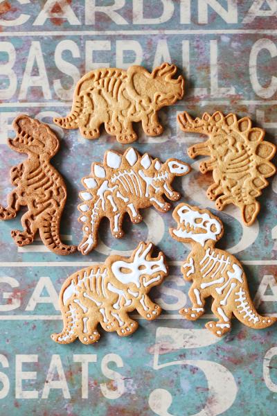 恐竜化石クッキー