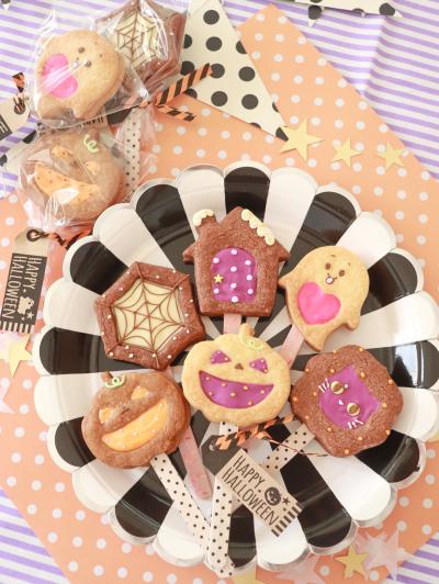 冷凍クッキー生地で簡単!チョコサンドポップス☆