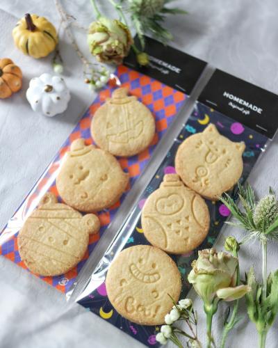 まんまるクッキー ハロウィンラッピング