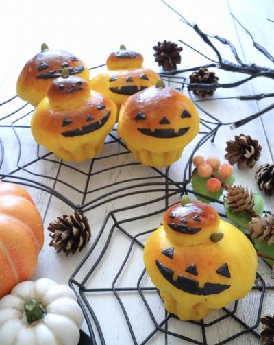 かぼちゃのハロウィンブリオッシュ