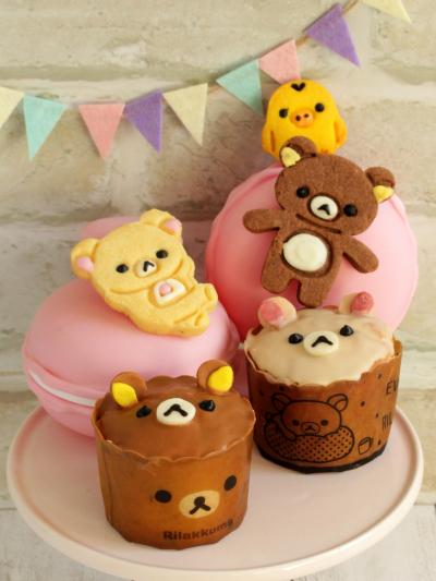 * 可愛い ♡ リラックマのカップケーキ♪