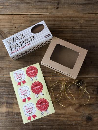 スティックブラウニーのラッピング(BOXと個別包装)