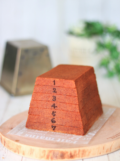 とび箱パウンドケーキ (ジャムサンド)