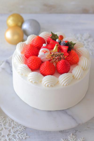 王道クリスマスケーキ