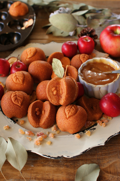 りんごのマドレーヌ
