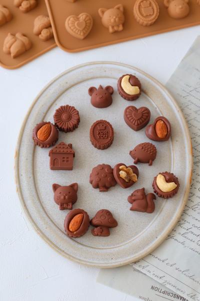 香ばしナッツチョコレート