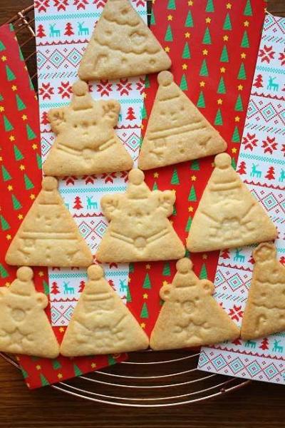 可愛いクリスマスクッキー