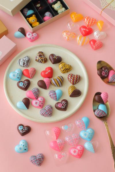 簡単!転写チョコレートモールドでフルーツチョコ
