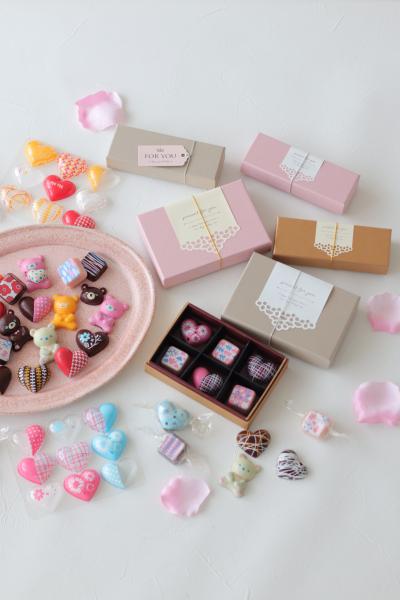 箱に入れるだけ!チョコレートの簡単ラッピング