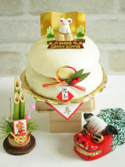 * お正月に ♡ 鏡餅ケーキ♪