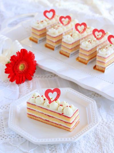 ホワイトチョコのガナッシュケーキ