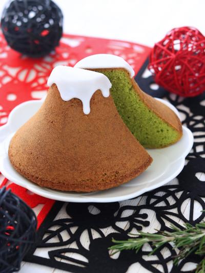 富士山抹茶パウンドケーキ