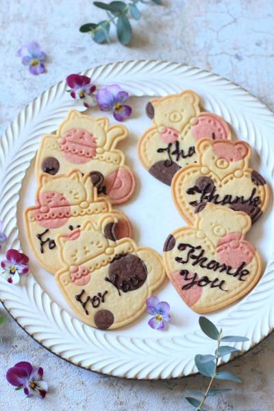 水玉メッセージクッキー