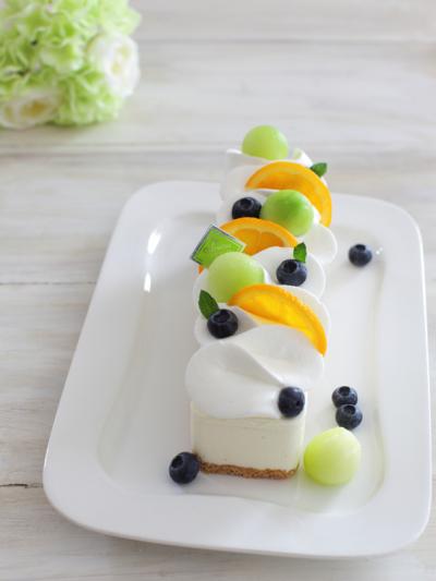 簡単☆ふんわりレアチーズムースケーキ