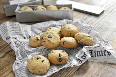 袋1つで!簡単!可愛い!チョコチップクッキー