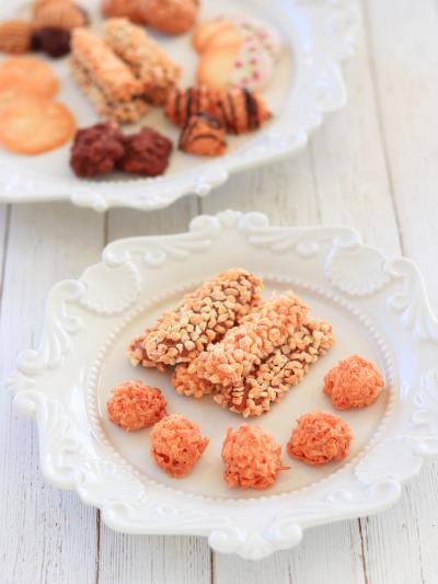 卵白を使ったクッキー『バトン・マレショー』『ロッシェ・ノワ・ド・ココ』