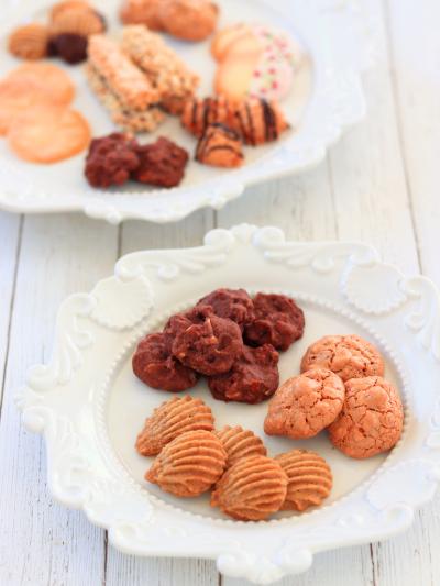 卵白を使ったクッキー『ポッシュ』『ドロップクッキー』『クロッカン』