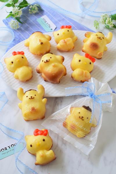 キャラクターレモンケーキ