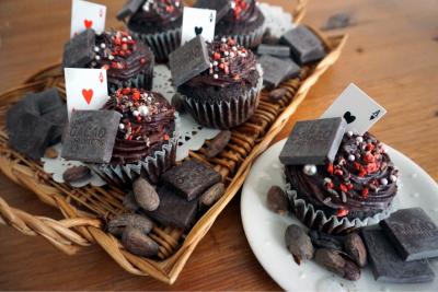 チョコレート好きに送るマフィン